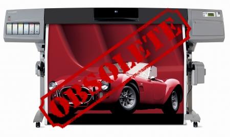 Designjet 5500 PS UV 60'' Q1254V Printer