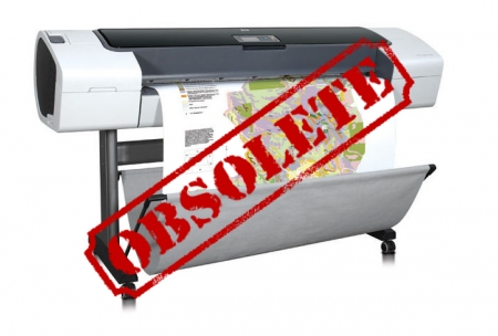 Designjet T1100 44'' Q6687A CAD Printer