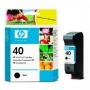 HP 40 Designjet Black Ink Cartridge (51640AE)