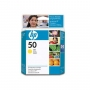 HP 50 Designjet Yellow Ink Cartridge (51650YE)