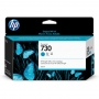 HP 730 130-ml Cyan DesignJet Ink Cartridge (P2V62A)
