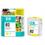 HP 82 Designjet Yellow Ink Cartridge (C4913A)