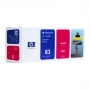 HP 83 Designjet Magenta UV Ink Cartridge (C4942A)