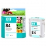 HP 84 Designjet Light Cyan Ink Cartridge (C5017A)