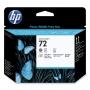 HP 72 Photo Black and Grey Printhead (C9380A)