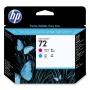 HP 72 Cyan and Magenta Printhead (C9383A)