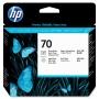 HP 70 Photo Black and Light Grey Printhead (C9407A)