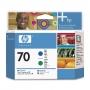 HP 70 Green and Blue Printhead (C9408A)
