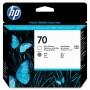 HP 70 Grey and Gloss Enhancer Printhead (C9410A)