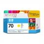 HP 70 Designjet Yellow Ink Cartridge (C9454A)