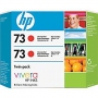 HP 73 Designjet Twin Pack Pack Chromatic Red Ink Cartridge (CD952A)