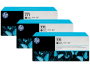 HP 771 Designjet Triple Pack Matte Black Ink Cartridge (B6Y31A)