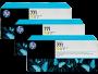 HP 771 Designjet Triple Pack Yellow Ink Cartridge (B6Y34A)