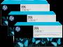 HP 771 Designjet Triple Pack Light Grey Ink Cartridge (B6Y38A)