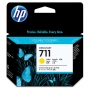 HP 711 Designjet Yellow Ink Cartridge (CZ136A)