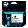 HP 711 Designjet Yellow Ink Cartridge (CZ136A)