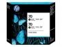 HP 70 Designjet Twin Pack Matte Black Ink Cartridge (CB339A)