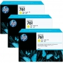 HP 761 Designjet Triple Pack Yellow Ink Cartridge (CR270A)