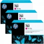 HP 761 Designjet Triple Pack Magenta Ink Cartridge (CR271A)