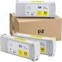 HP 83 Designjet Triple Pack Yellow UV Ink Cartridge (C5075A)