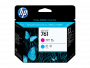HP 761 Cyan and Magenta Printhead (CH646A)
