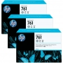 HP 761 Designjet Triple Pack Grey Ink Cartridge (CR273A)