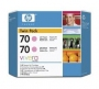 HP 70 Designjet Twin Pack Light Magenta Ink Cartridge (CB346A)