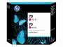 HP 70 Designjet Twin Pack Magenta Ink Cartridge (CB344A)