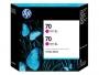 HP 70 Designjet Twin Pack Magenta Ink Cartridge (CB344A)