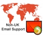 Non UK Email Support