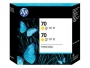 HP 70 Designjet Twin Pack Yellow Ink Cartridge (CB345A)