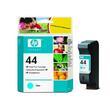 HP 44 Original Standard Capacity Cyan Ink Cartridge (51644CE)