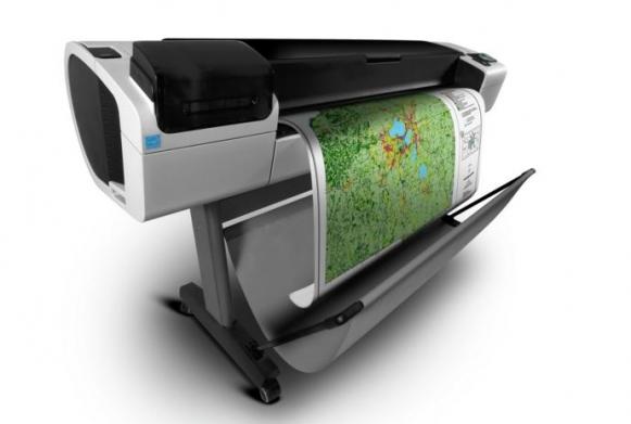 فروش پلاتر HP Designjet T795 کار کرده