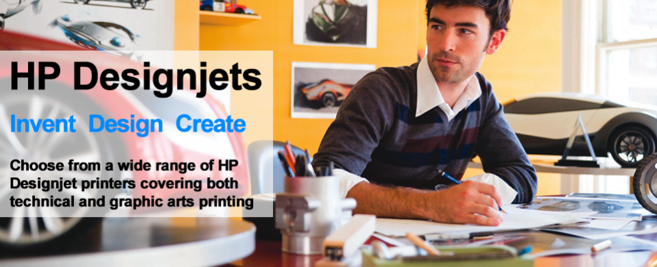 HP Designjet printers - technical and graphic arts