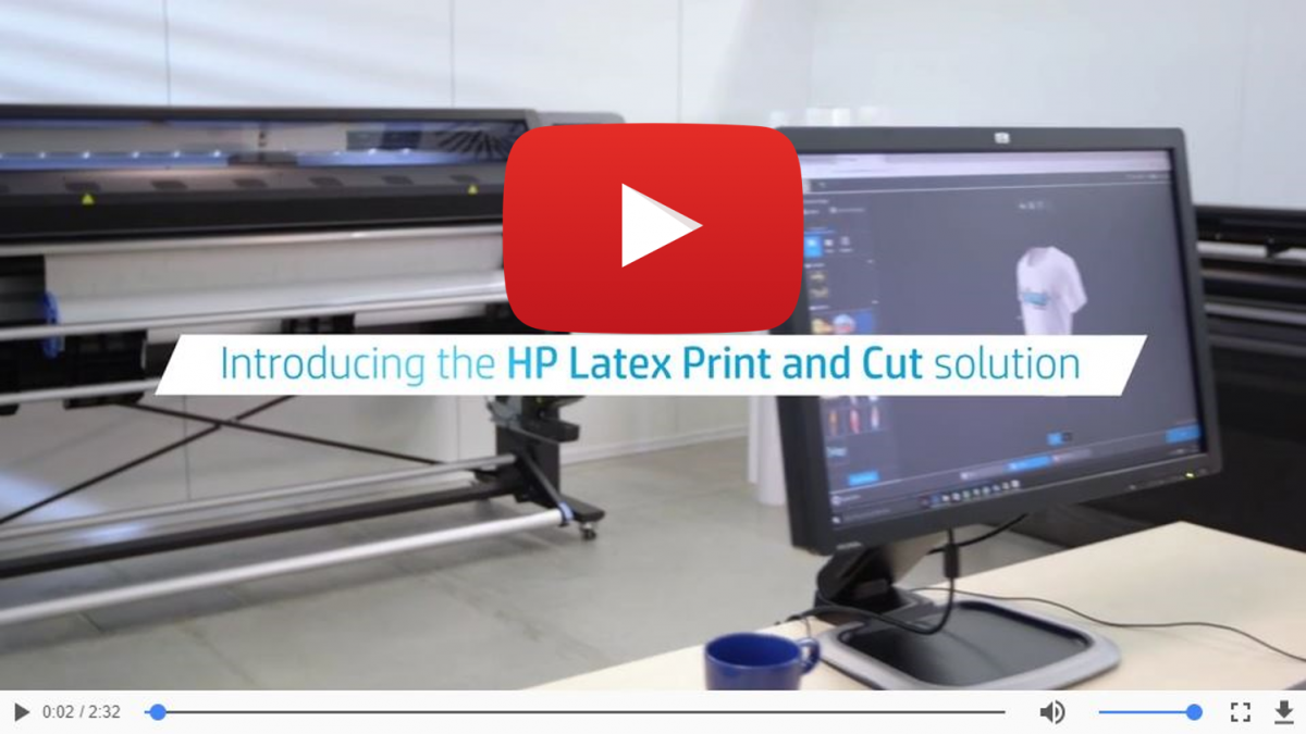 Introducing the HP Latex Print and Cut Solution