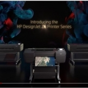 HP DesignJet Z6 video