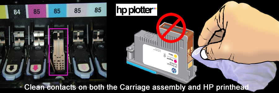 Hp Printhead How To Handle And Clean A Hp Printhead